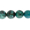 African Turquoise 10mm Round 17pcs Approx